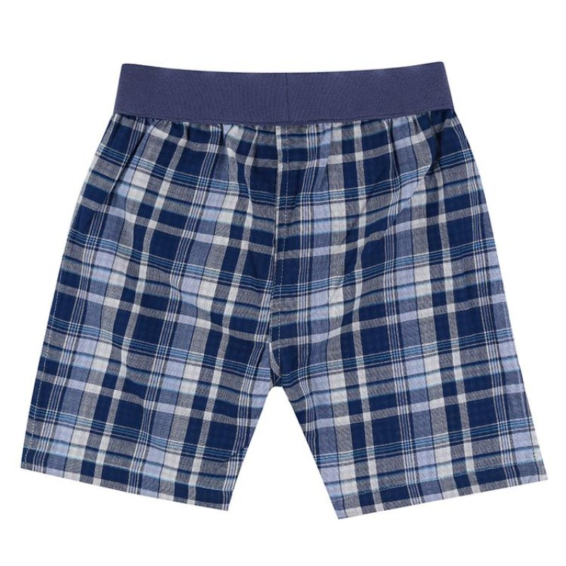 Lilly + Sid - Reverse check shorts