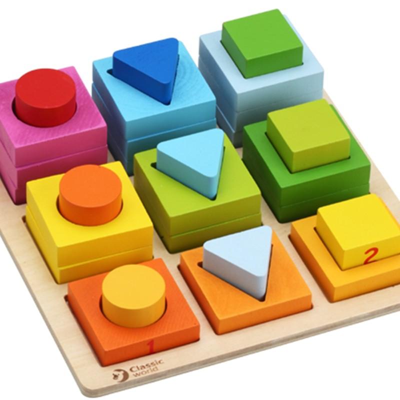 classic world - Geometric puzzle