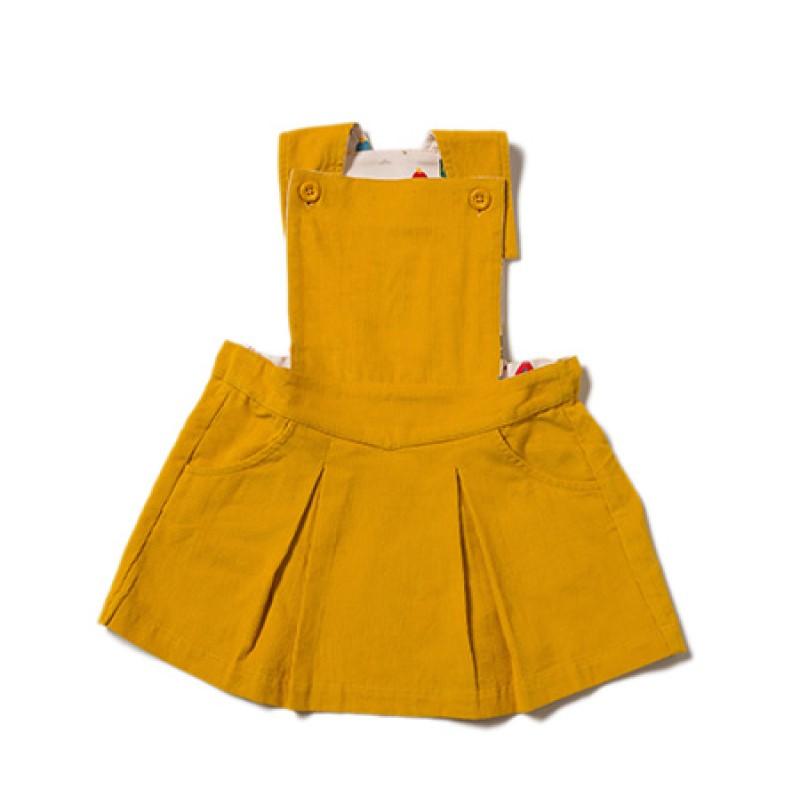 LGR - Gold Pinafore Dress