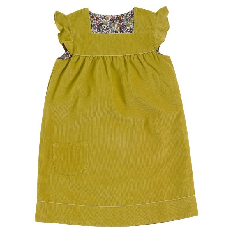 pigeon - shift dress - reversible - willow
