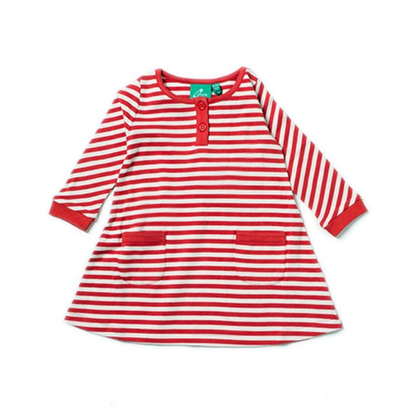 LGR - Red Stripe Playaway Dress