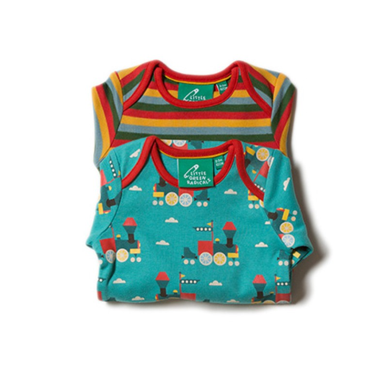 LGR - Sky Train Two Pack Baby Body Set