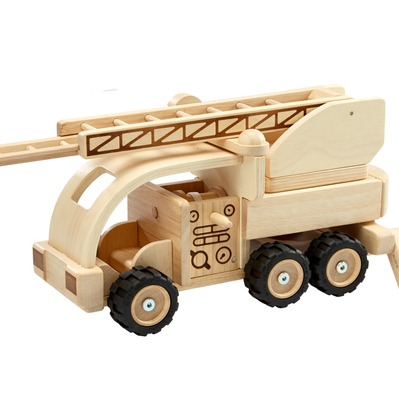 Plan Toys - Limited edition - Fire Engine