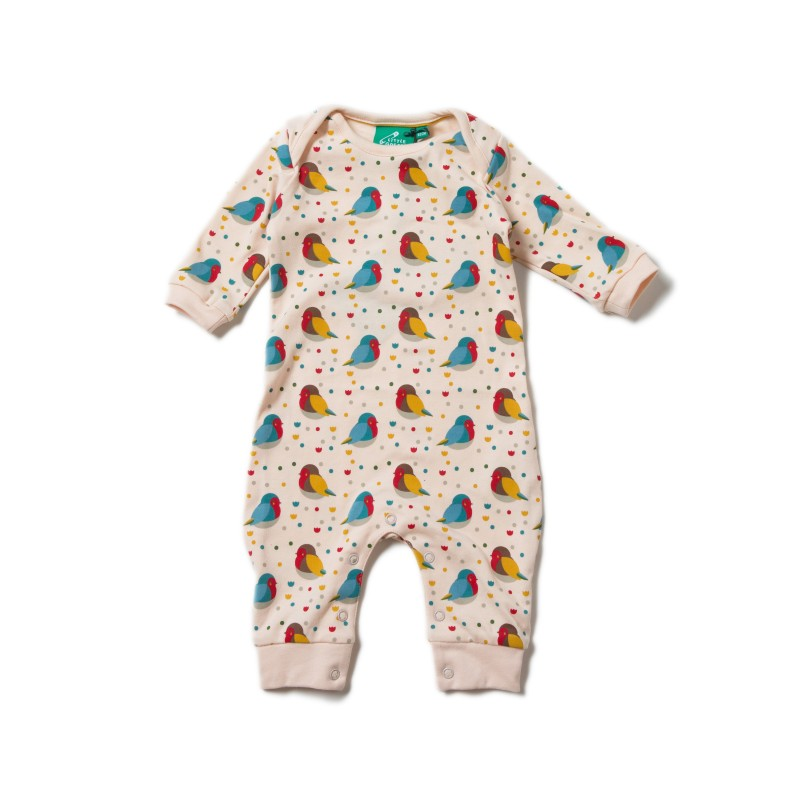 LGR - Rainbow Robin Applique Playsuit