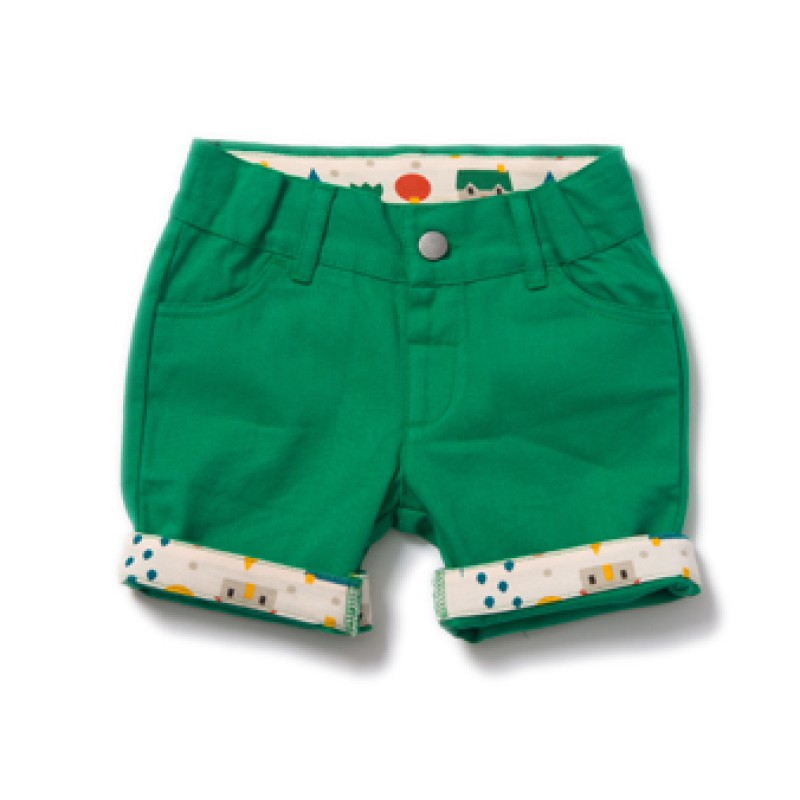 LGR - Fern green shorts 9-12 months