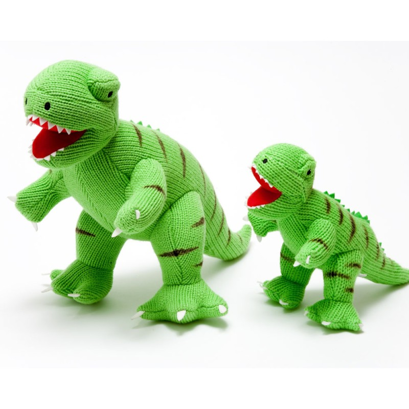 Best Years-Knitted t-rex Large