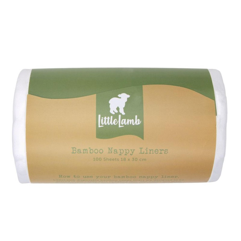 Little Lamb - Bamboo Nappy liners