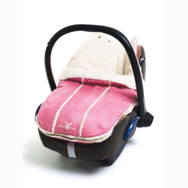 wallaboo footmuff newborn Pink