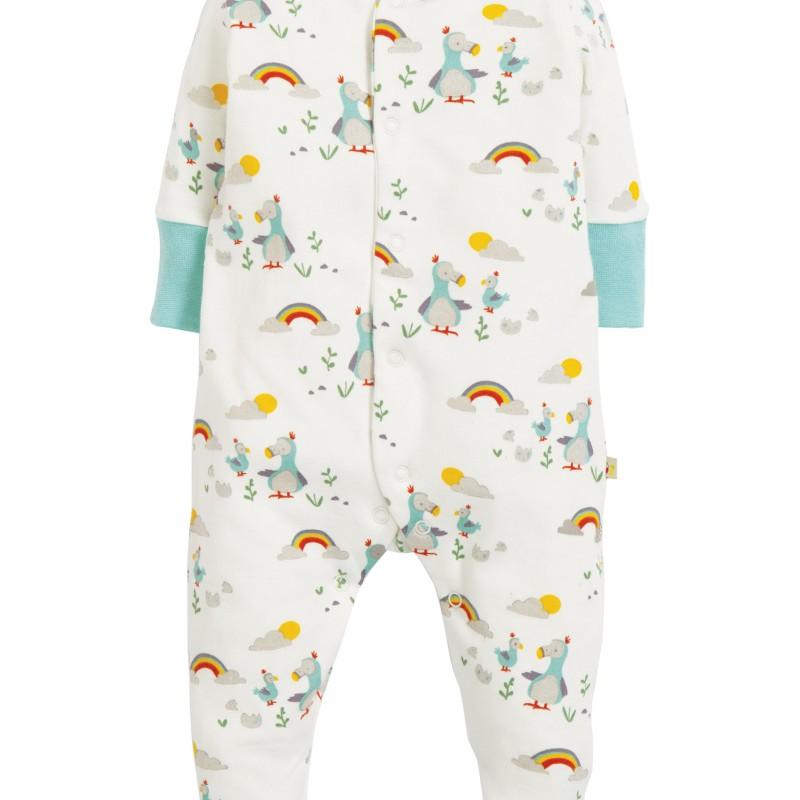 Frugi - Lovely Babygrow, Delightful Dodos