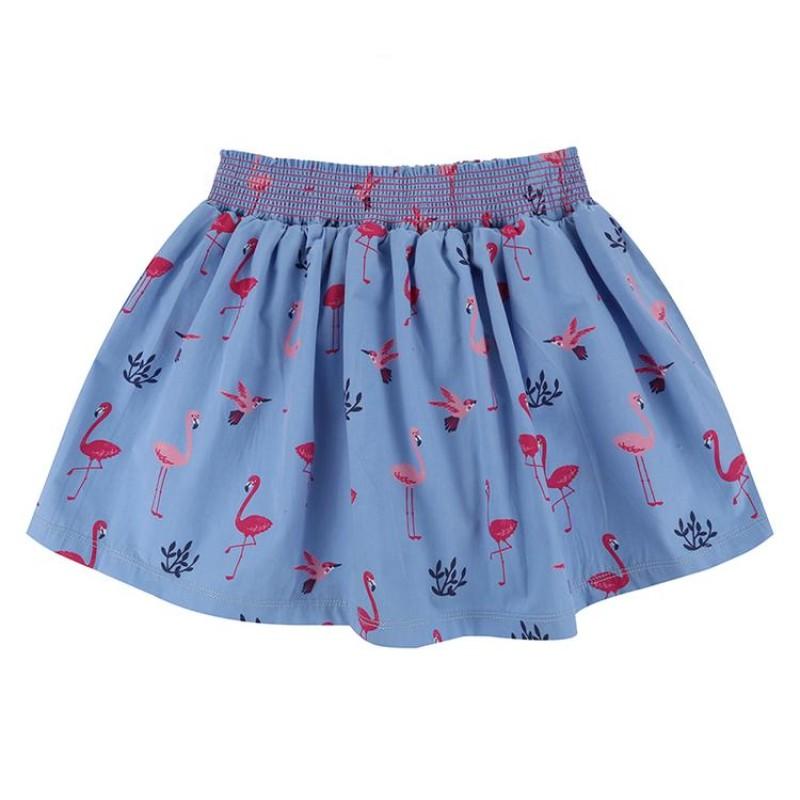 Lilly + Sid - Flamingo Print Skirt