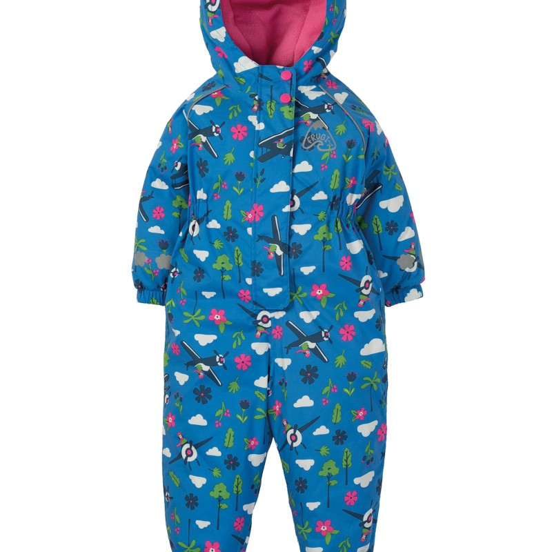 Frugi - Explorer waterproof all in one - Sail blue Fly High