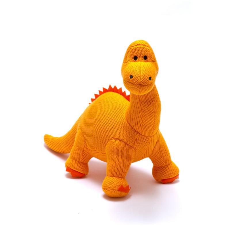 Best Years-Knitted Medium Diplodocus orange