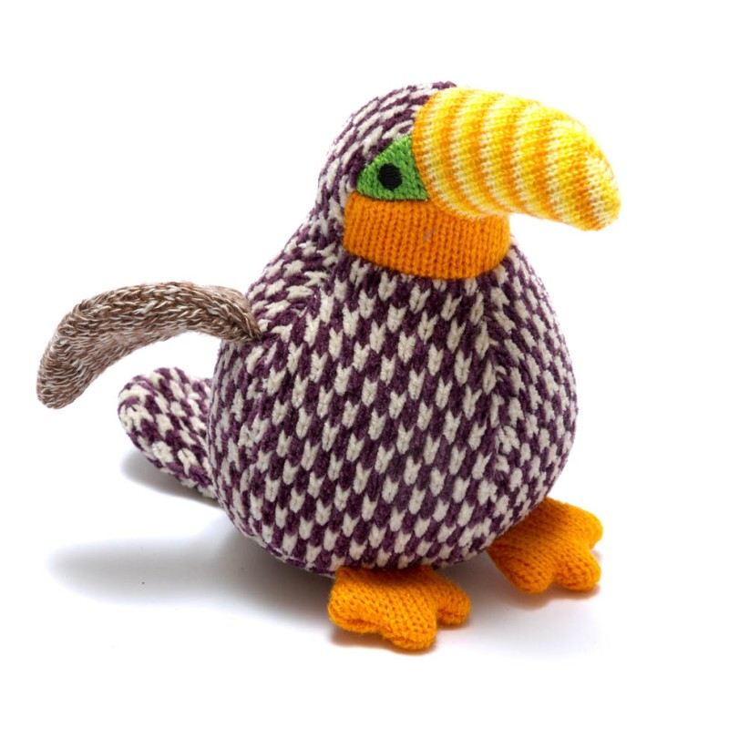 best years - Knitted benjie toucan-rattle