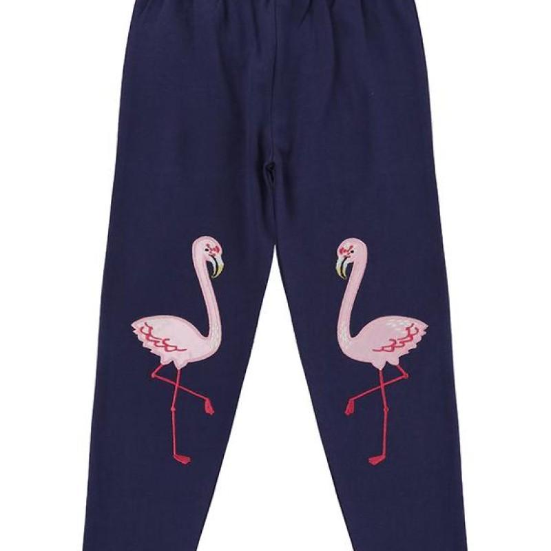 Lilly + Sid - Flamingo knee Leggings