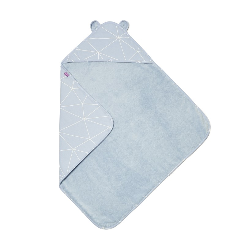 Snuz Baby Hooded Towel  - Geo Breeze