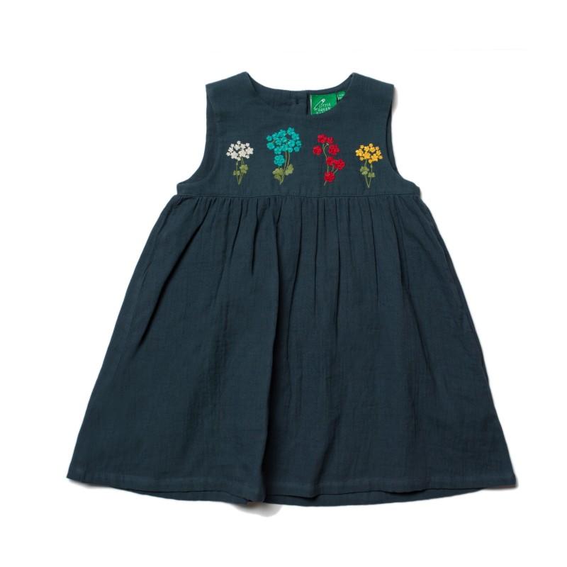 LGR- spring bloom embroidered dress