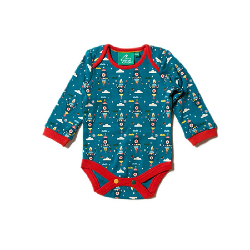 LGR - Night Sky Rockets Two Pack Baby Body Set