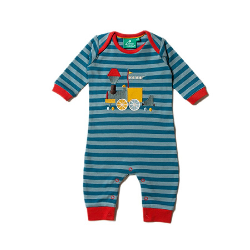 LGR - Sky Train Applique Playsuit