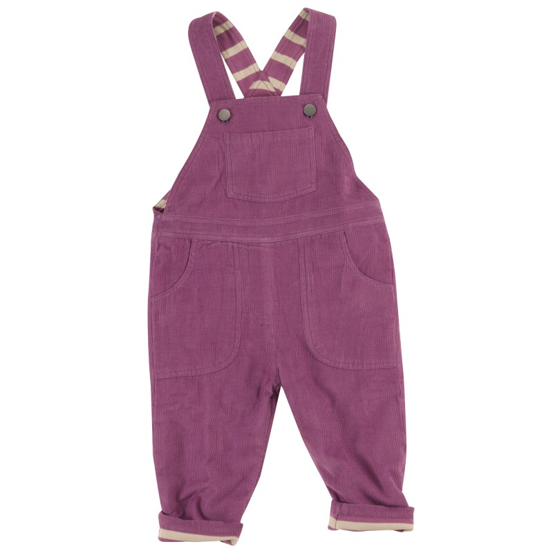Pigeon - Lined dungarees, purple,