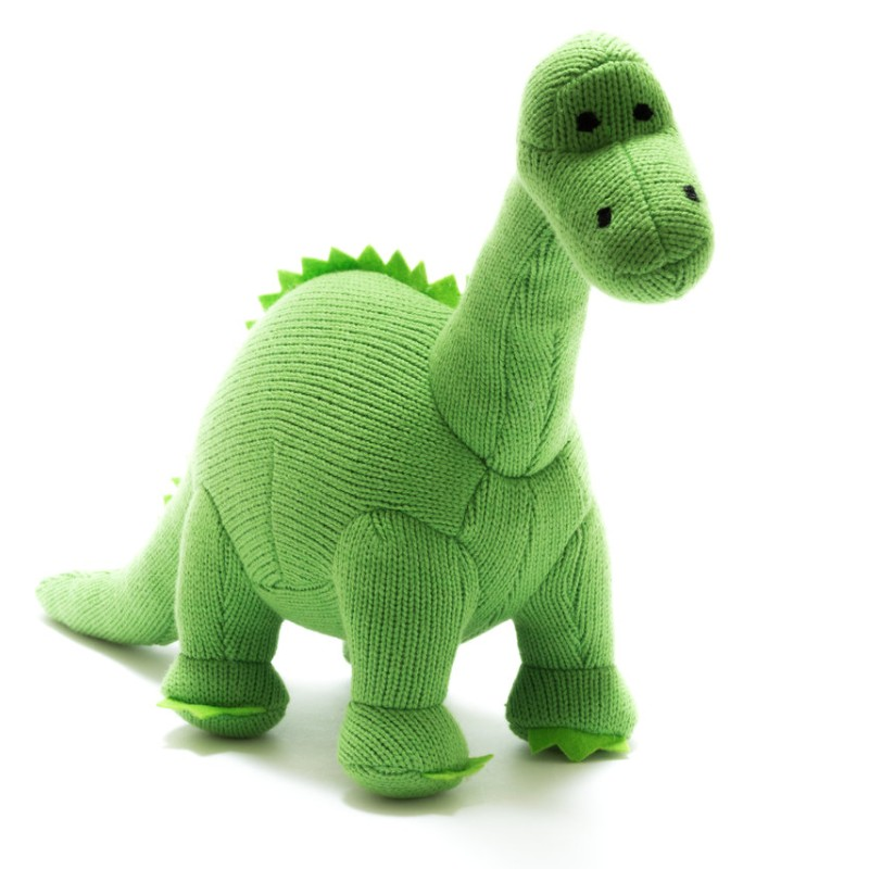 Best Years-Knitted Green Diplodocus