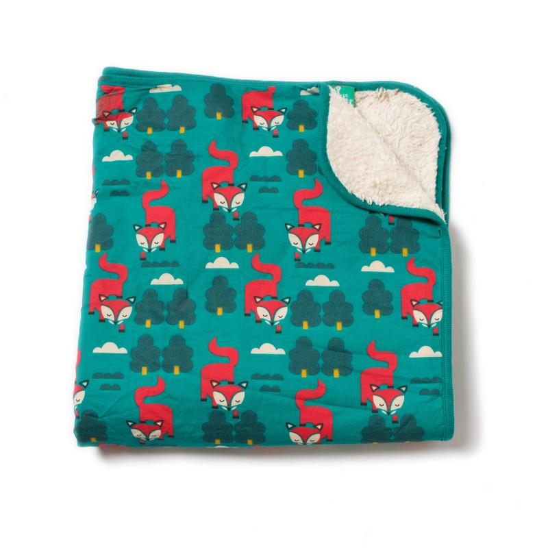 LGR Winter fox Blanket