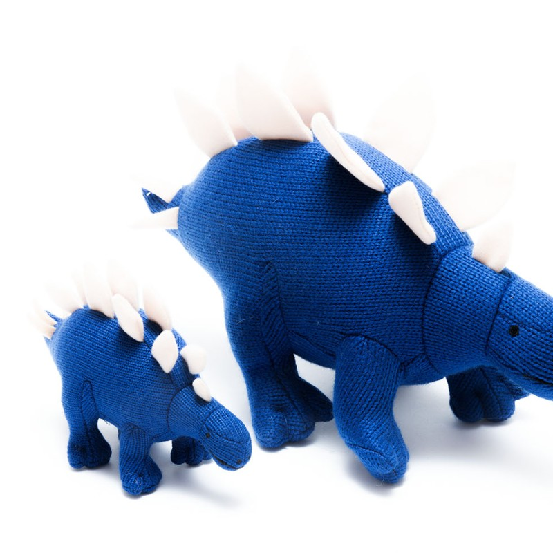 Best Years - Knitted Stegosaurus toy medium