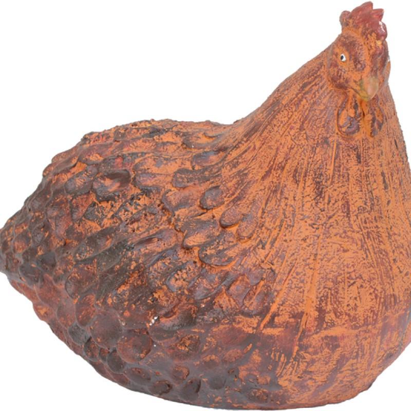Braunes Huhn