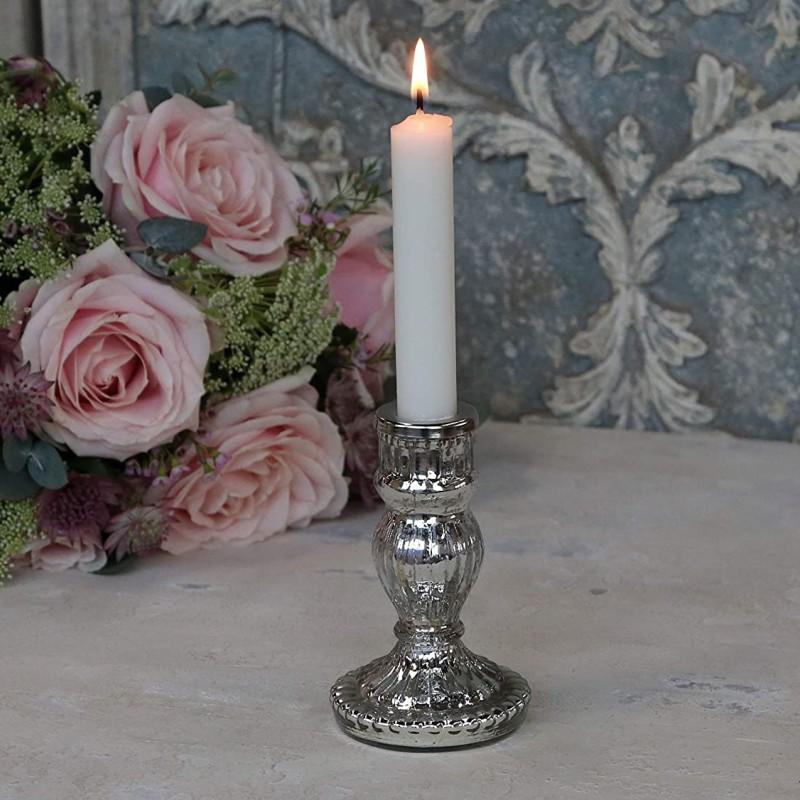 Kerzenständer aus Bauernsilber von