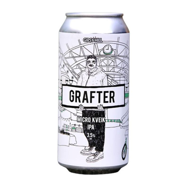 GIPSY HILL GRAFTER MICRO KVIEK IPA 3.5%