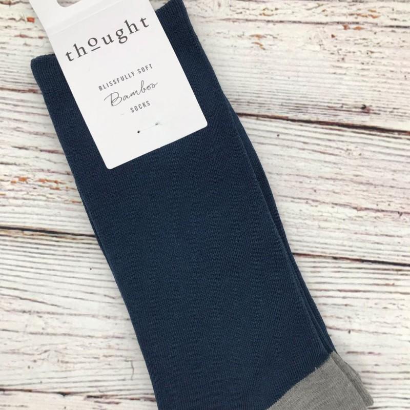 Socks - denim blue