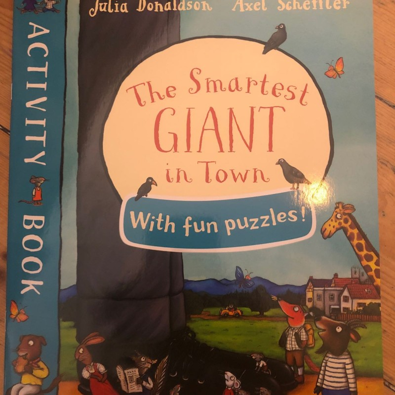 Activity book The smartest giant in town