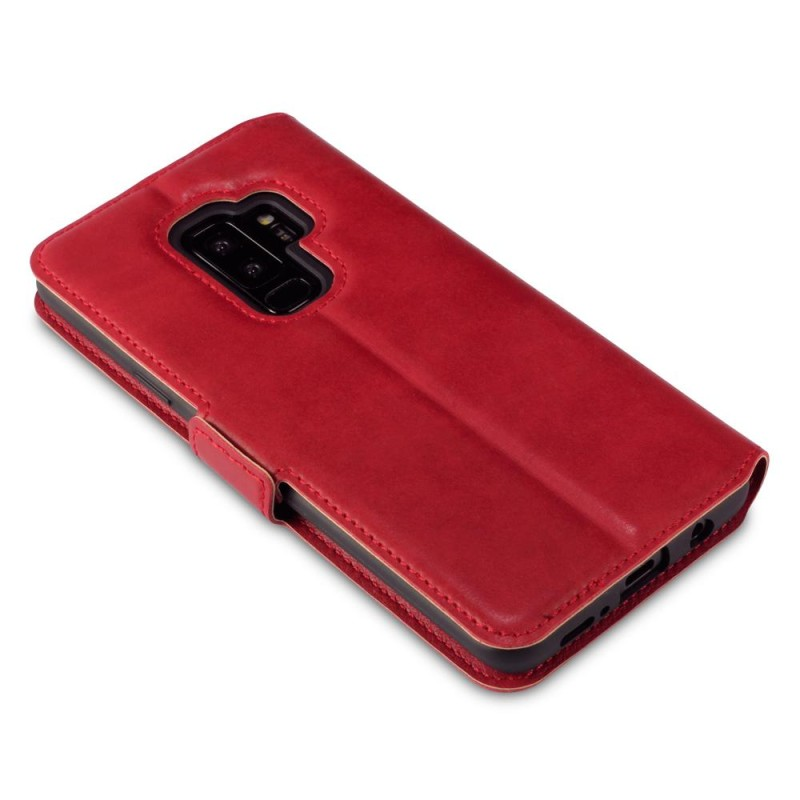Samsung S9 Plus Low Profile Genuine Leather Wallet Case