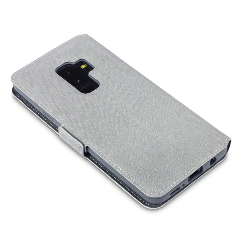 Samsung S9 Plus Low Profile PU Leather Wallet Case