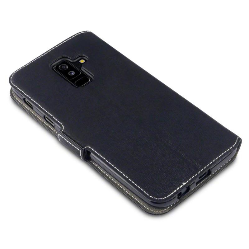 Samsung A6 Plus 2018 Low Profile PU Leather Wallet Case