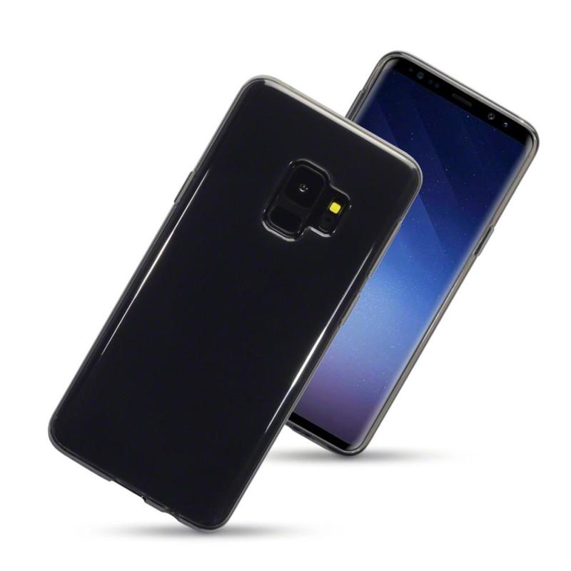 Samsung S9 TPU Gel Case - Smoke Black