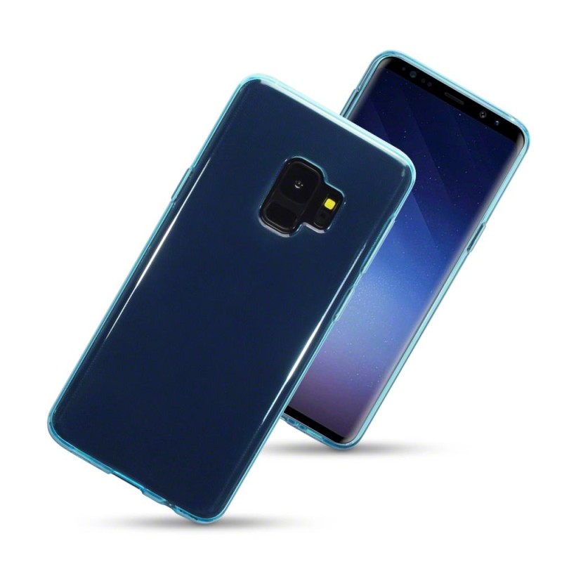 Samsung S9 TPU Gel Case - Blue