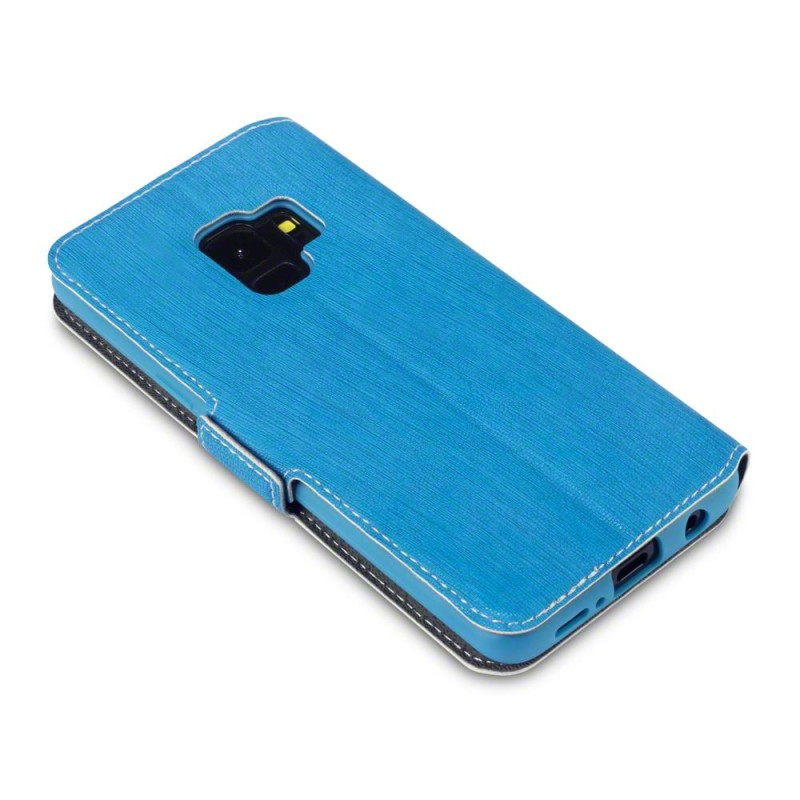 Samsung S9 Low Profile PU Leather Wallet Case