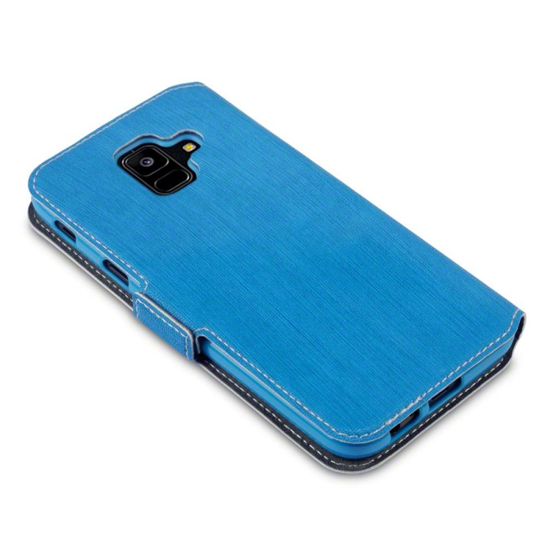 Samsung A6 2018 Galaxy Low Profile PU Leather Wallet Case