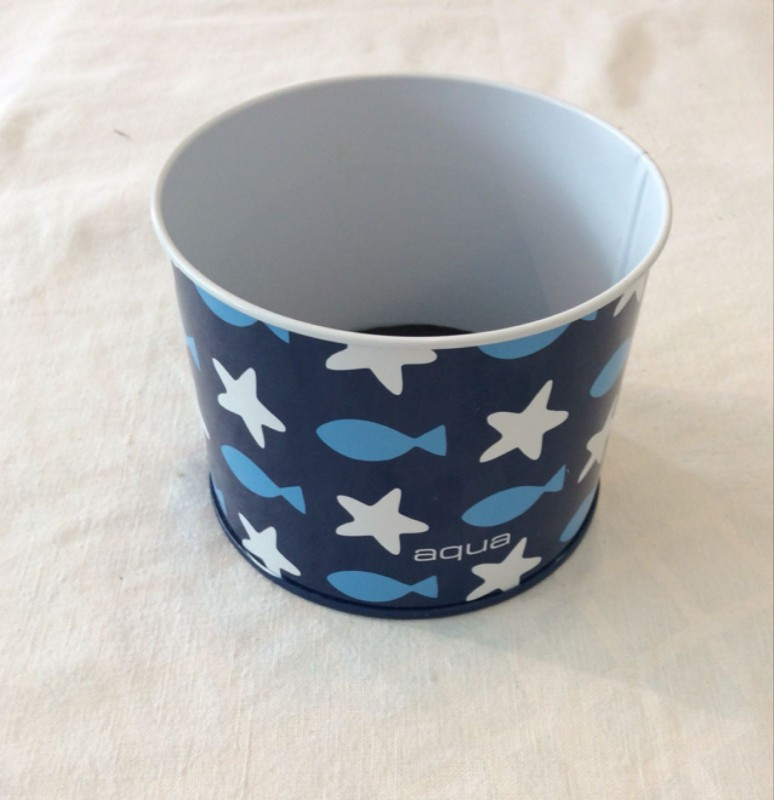 Fish and stars pen pot