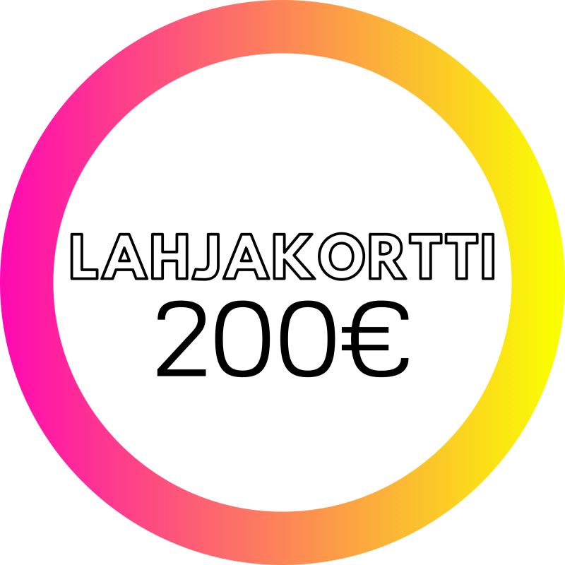 Lahjakortti 200€