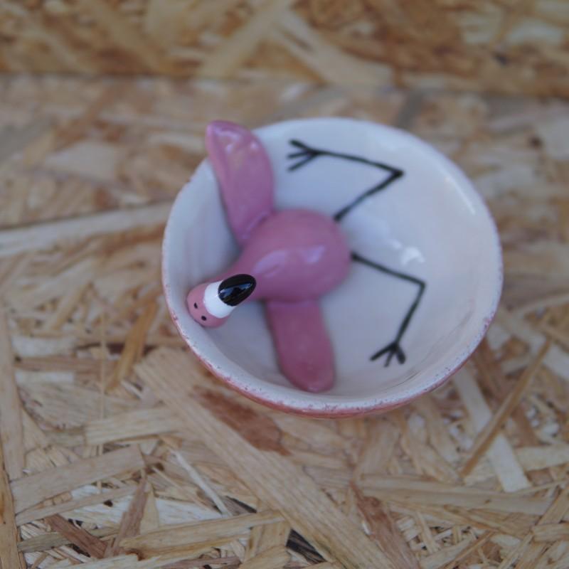 Flamingo skål Lille