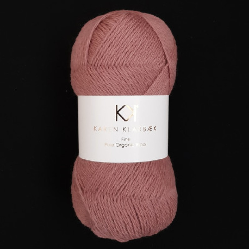 2501 Dark Rose - Fine Pure wool