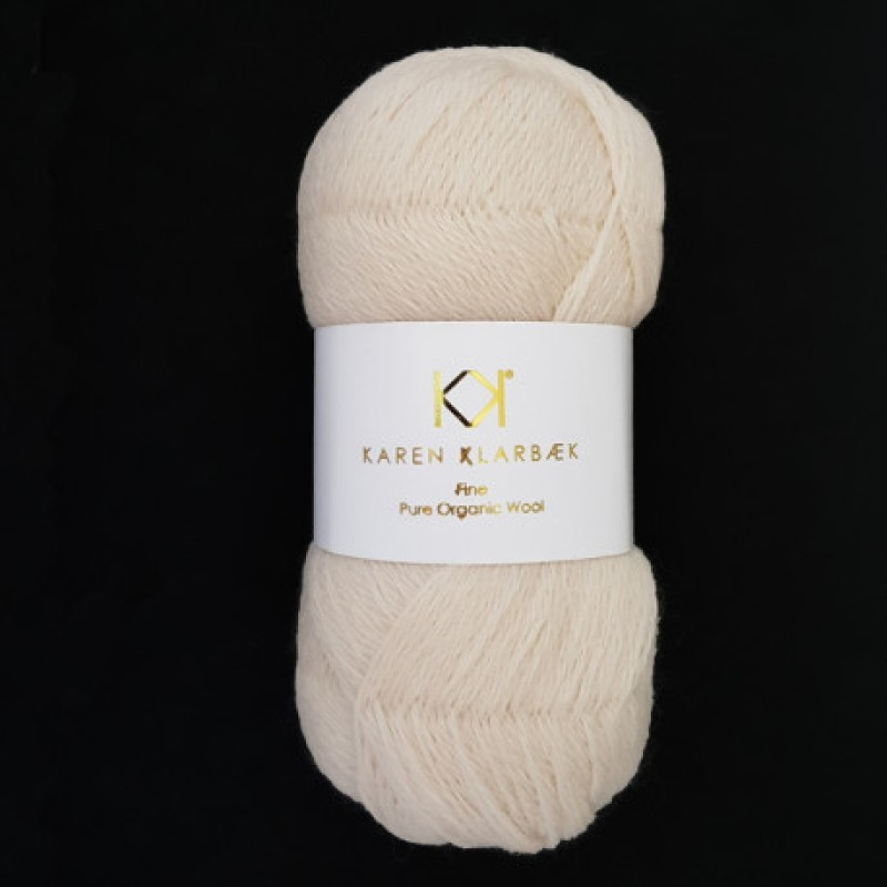2511 Warm Nature white - Fine Pure wool
