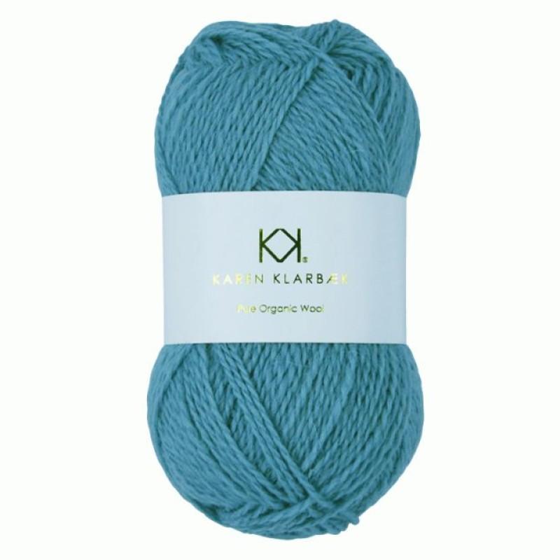 2022 Aqua Blue - Pure wool