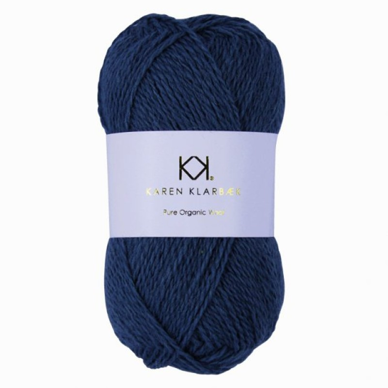 2023 Jeans Blue - Pure wool
