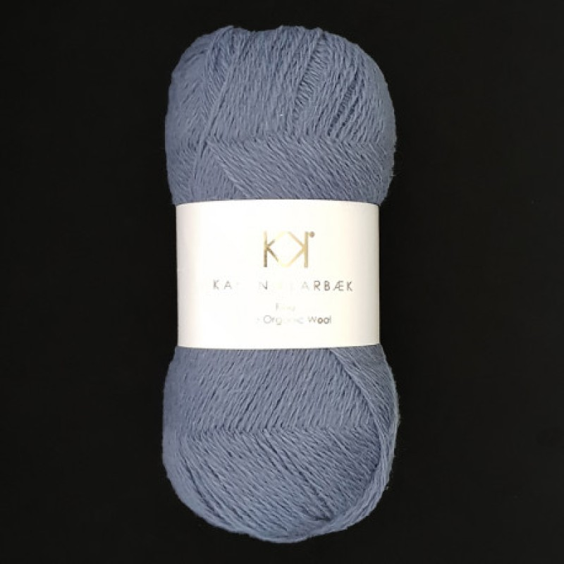 2503 Dark Blue - Fine Pure wool