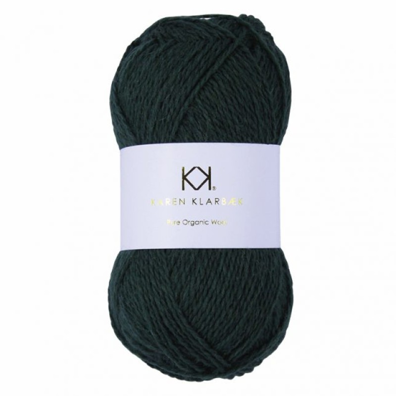 2018 Bottle Green - Pure Wool
