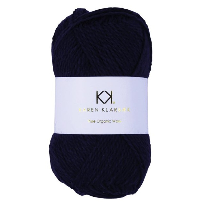 2024 Navy Blue - Pure wool