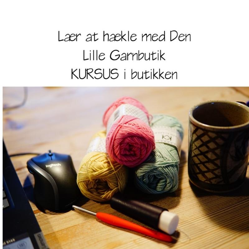 Lær at Hækle - AFTEN KURSUS 18.30-21.00