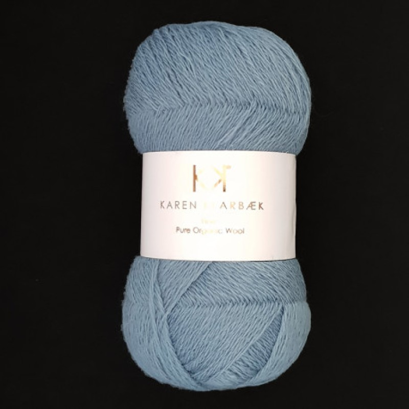 2504 Blue - Fine Pure wool